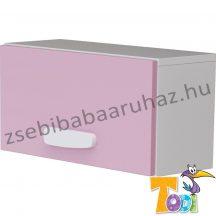 Bianco felnyílós faliszekrény - pink