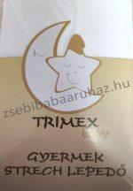 Trimex gumis lepedő - fehér
