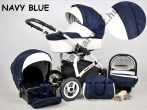 White Lux 3in1 babakocsi - Navy Blue
