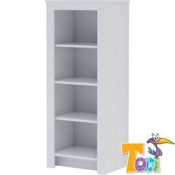 White Bunny keskeny nyitott polcos szekrény