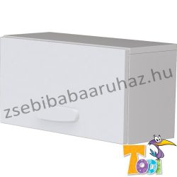 Bianco felnyílós faliszekrény - bordázott fehér