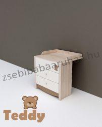Todi Teddy 3 fiókos pelenkázószekrény