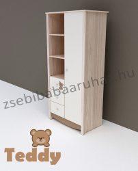 Todi Teddy 1 ajtós 3 fiókos nagy szekrény